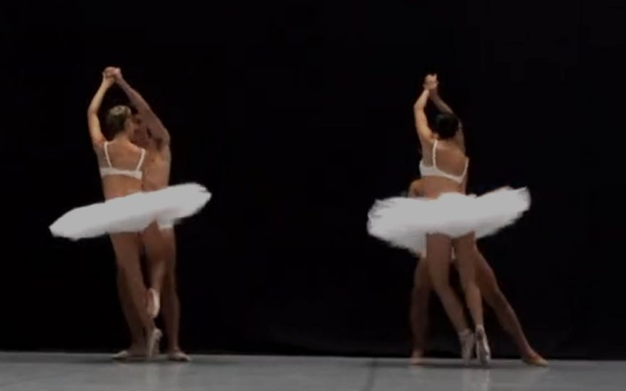 Les coulisses d'un ballet de l'opéra de Nice