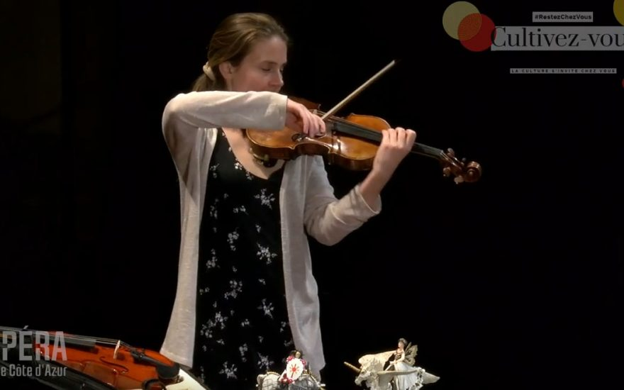 Violaine DARMON, épisode n°5 des histoires du petit violon magique