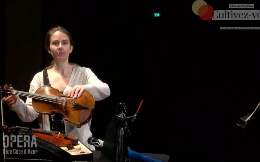 Violaine DARMON, épisode n°3 des histoires du petit violon magique