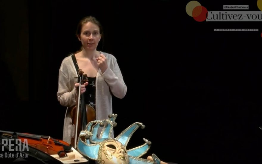 Violaine DARMON, épisode n°4 des histoires du petit violon magique