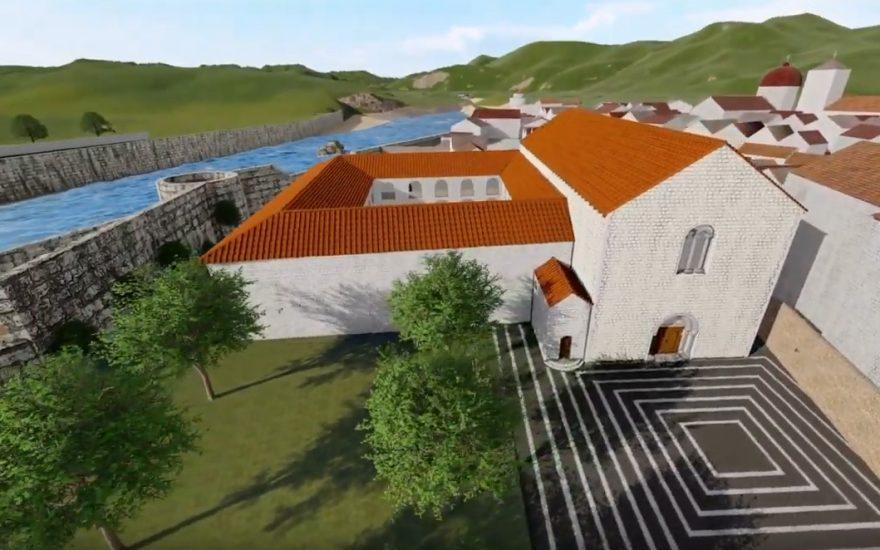 Visite 3D du couvent des Franciscains de Nice au XVIIe siècle