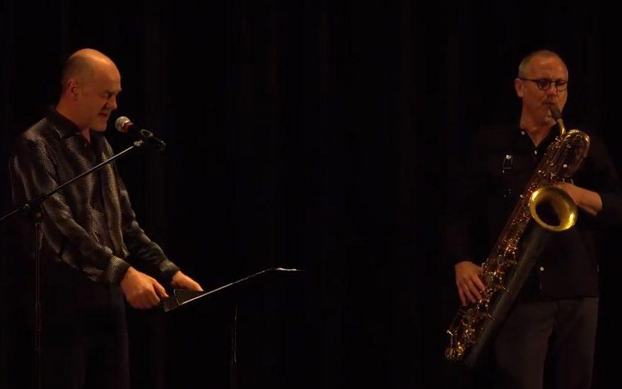 Concert-texte de Jacques Bonnaffé et François Corneloup