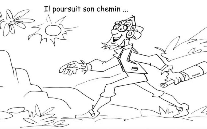 Conte Musical, « Le moineau, la coccinelle et rêve » des fabuleuses études du Professeur Lobinstein