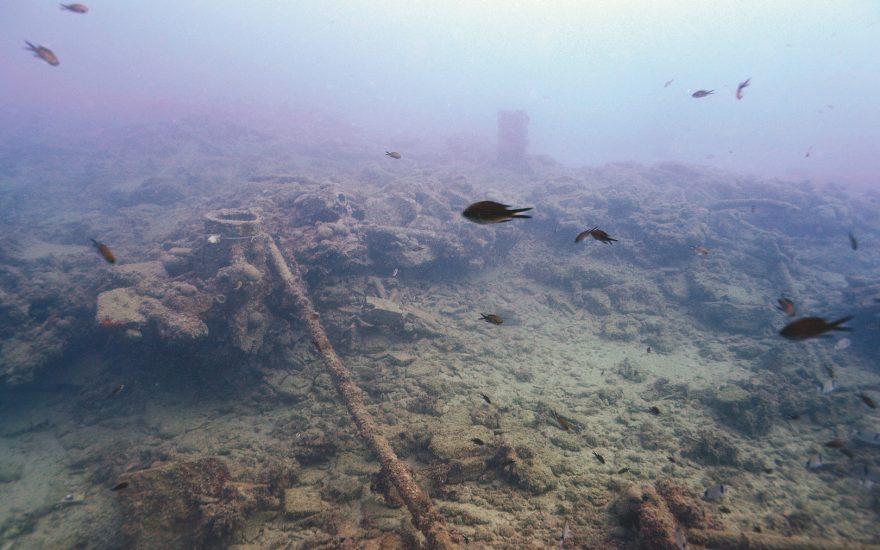 L'archéologie sous-marine à Nice