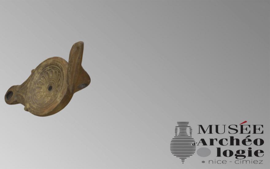 Les collections en 3D du Musée d'Archéologie de Nice / Cimiez