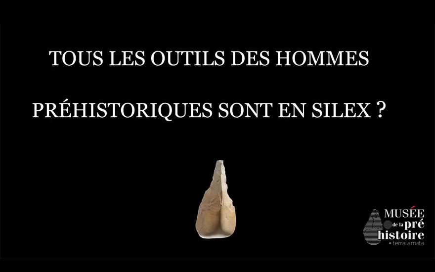 Idée reçue : Les outils des hommes préhistoriques étaient tous en silex
