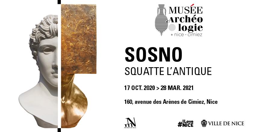 Exposition : Sosno squatte l'antique