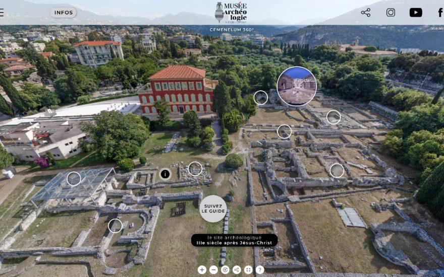 Cemenelum-360°