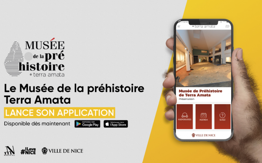 Terra Amata, l'application mobile