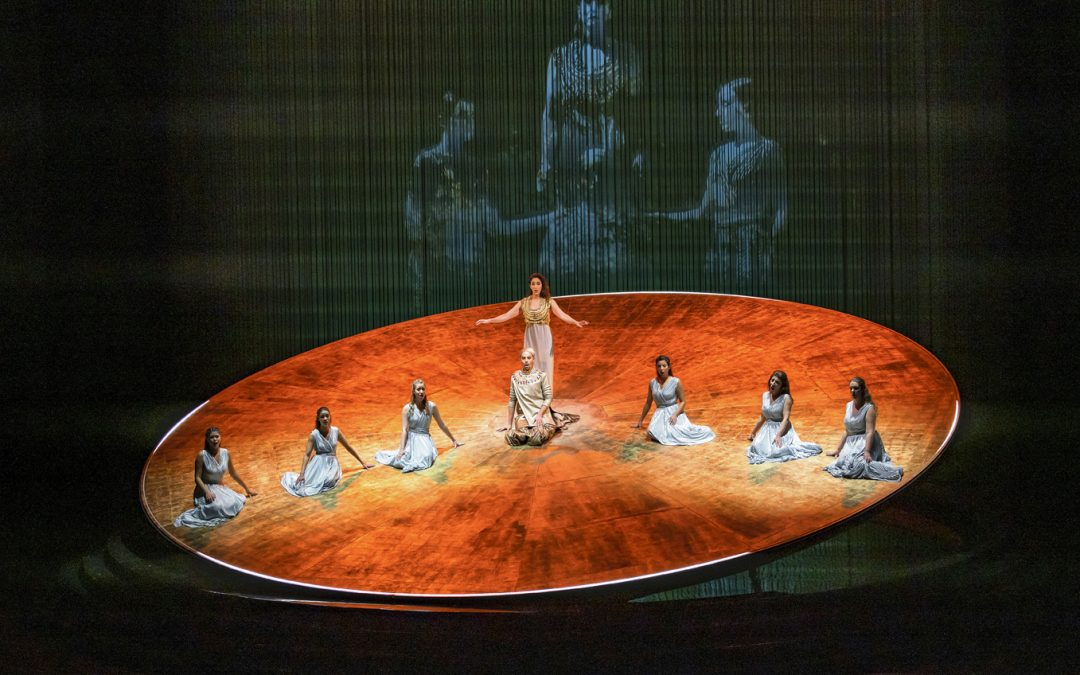 Captation de l'Opéra « Akhnaten » de Philip Glass