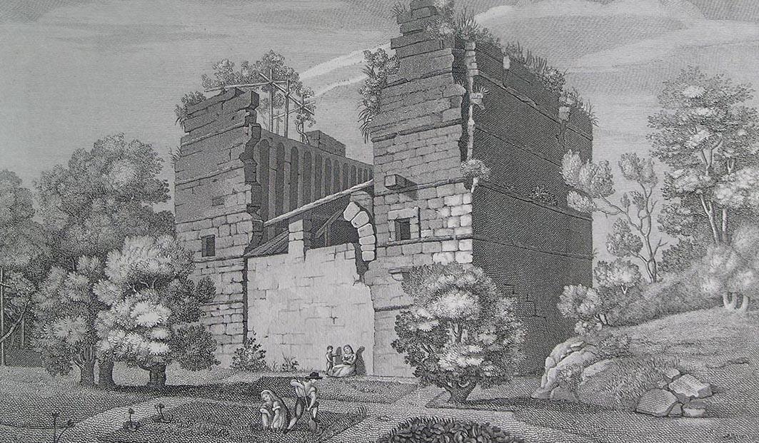 Frigidarium ou temple d'Apollon?