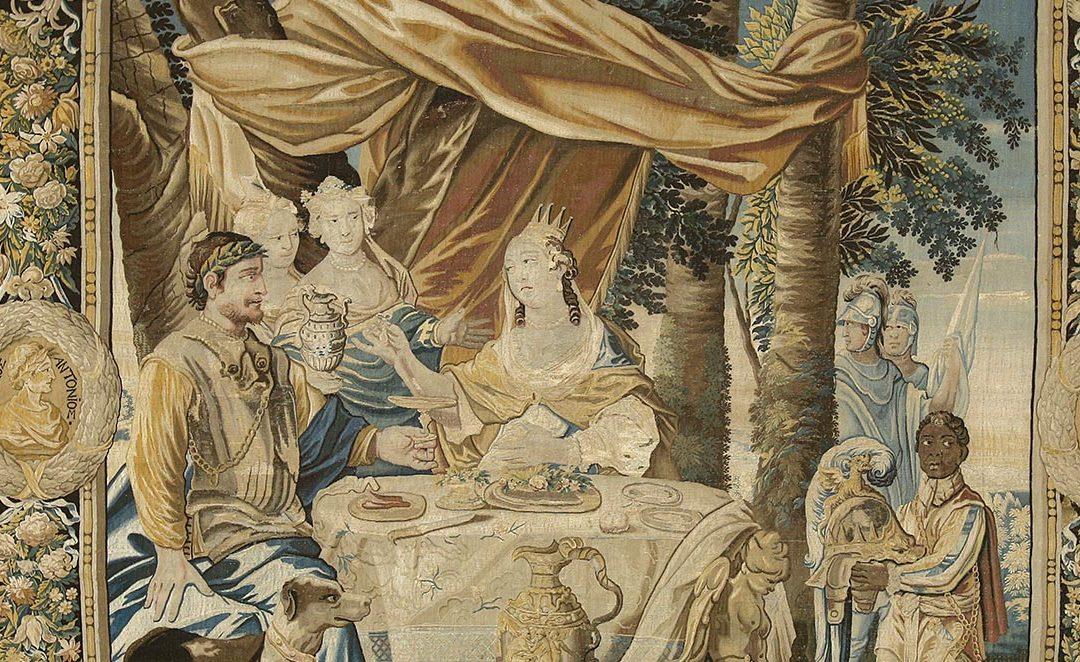 Trésors de Nice : le Banquet de la tenture de Cléopâtre