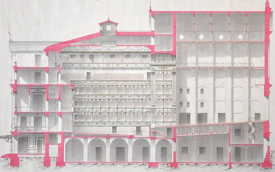 Puzzle: Projet du nouveau théâtre municipal