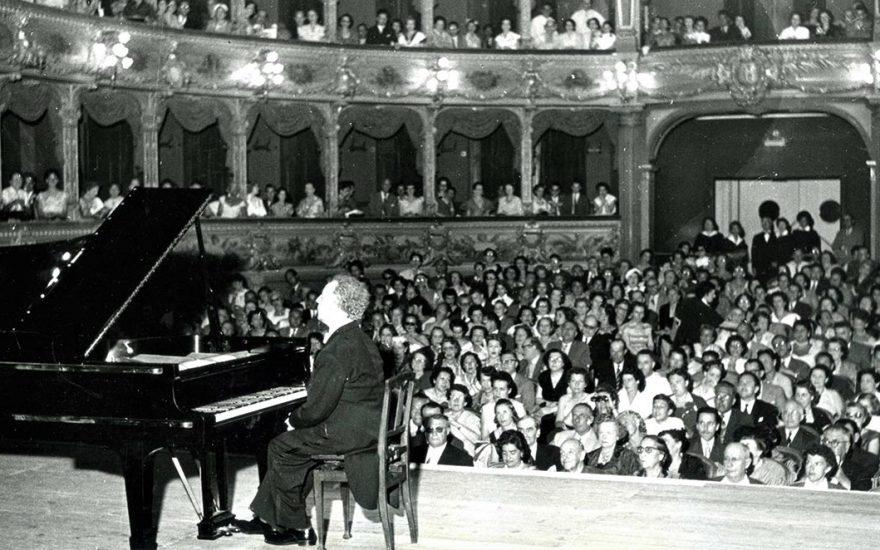 Arthur Rubinstein à Nice
