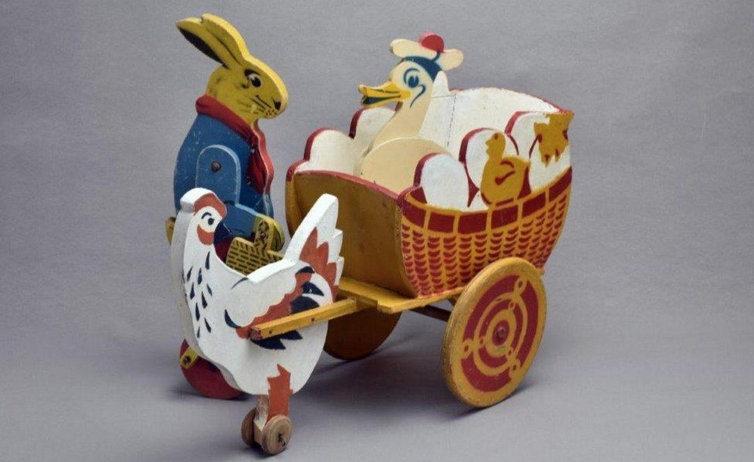 La magie des jouets en bois, collection Philippe Guillotel