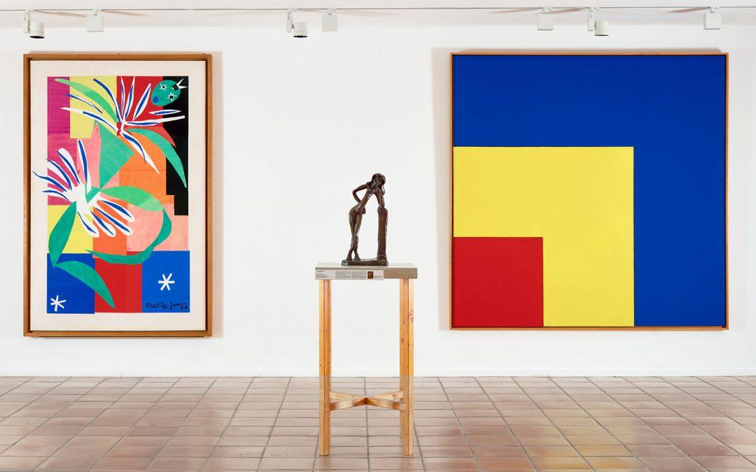 Musée Matisse, Visite de l'exposition « Les Murs reculent »