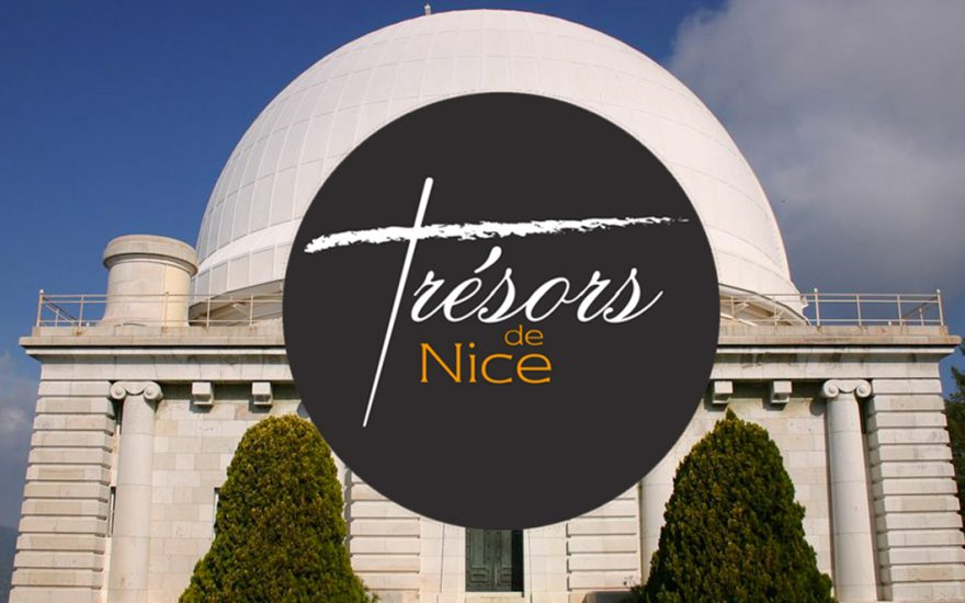 Zoom «Trésors de Nice» sur la coupole de l'Observatoire de la Côte d'Azur