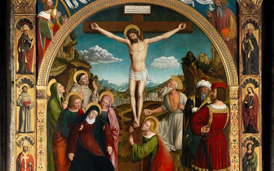 La crucifixion par Bréa, les coulisses d'une restauration