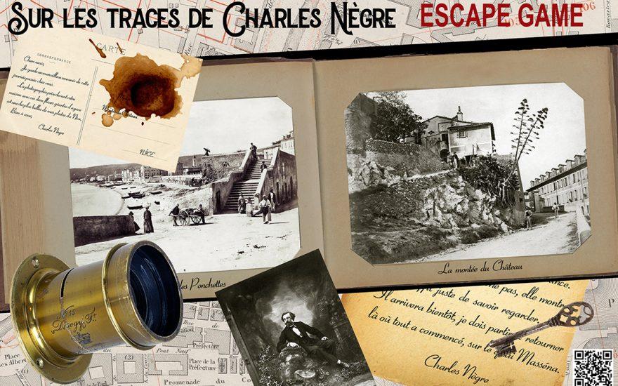 «Sur les traces de Charles Nègre»– Escape Game virtuel