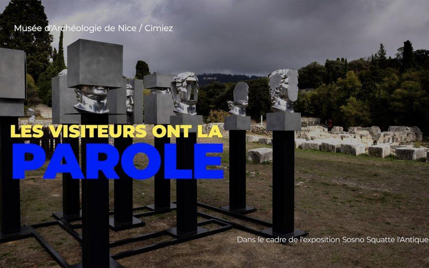 « Sosno squatte l'Antique » : les visiteurs ont la parole