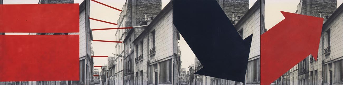 Focus sur une œuvre de SOSNO «Intervention à image constante» de la collection du MAMAC