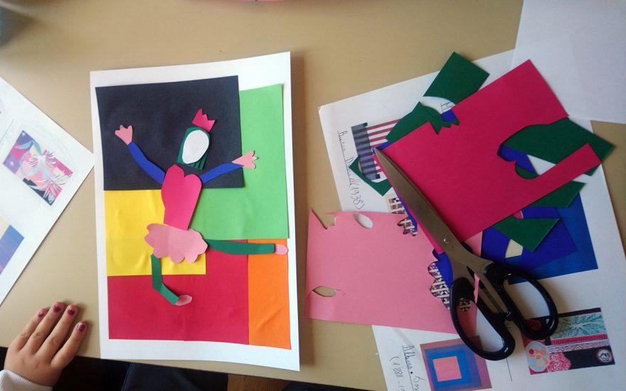 S'amuser à la maison avec le musée Matisse. Sortir du cadre!