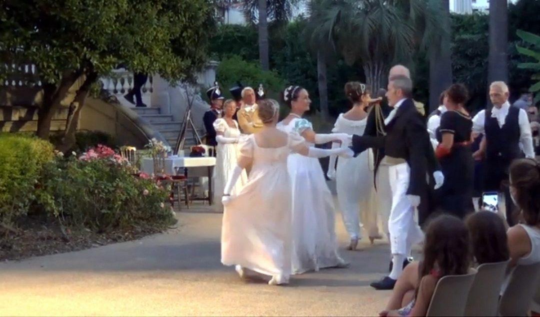 Les danses Napoléoniennes. Un soir à la Villa Masséna