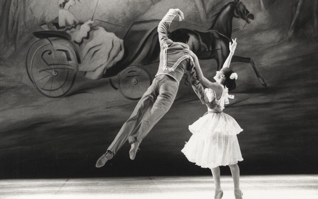 Hommage à Léonide Massine par le corps de ballet de l'Opéra de Nice
