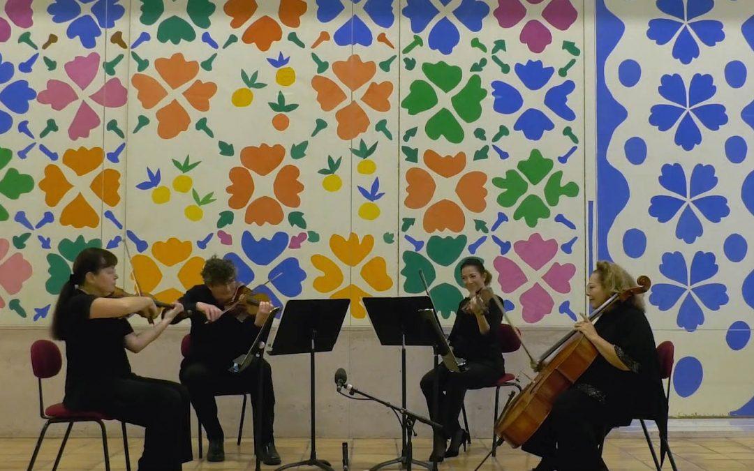 Concert au Musée Matisse Nice :  Divertimenti de W.A. Mozart – Épisode 3