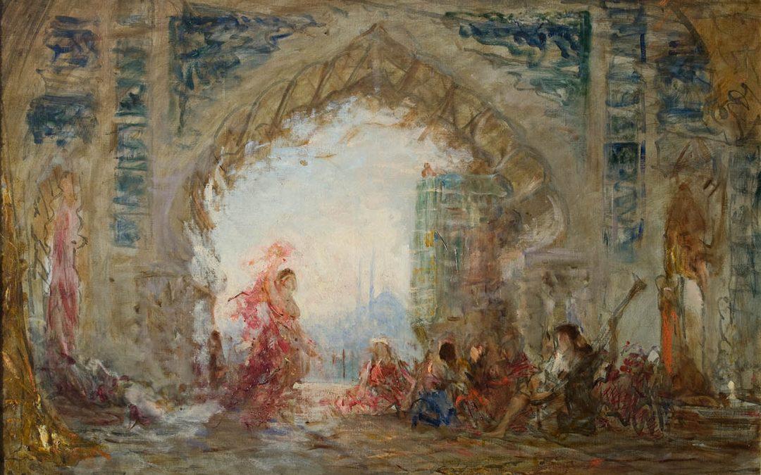 «La danse de l'Almée», un voyage au cœur de l'orientalisme de Félix Ziem