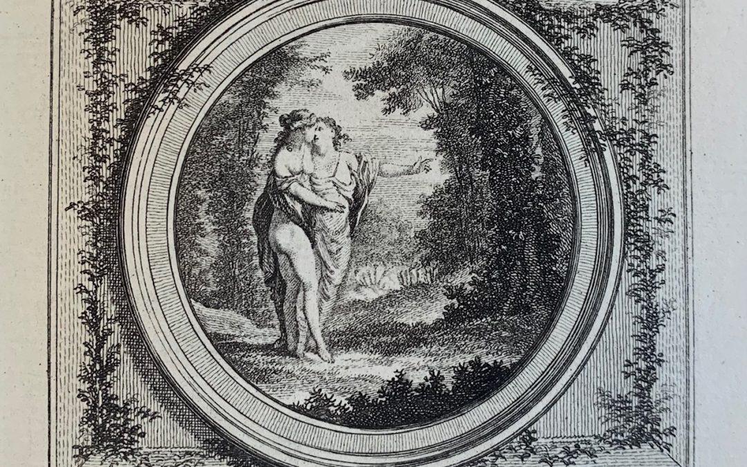 «LES BAISERS» de  Claude-Joseph DORAT, gravures de Charles EISEN