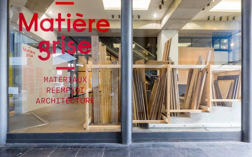 Retour sur l'exposition «Matière grise – matériaux, réemploi, architecture»