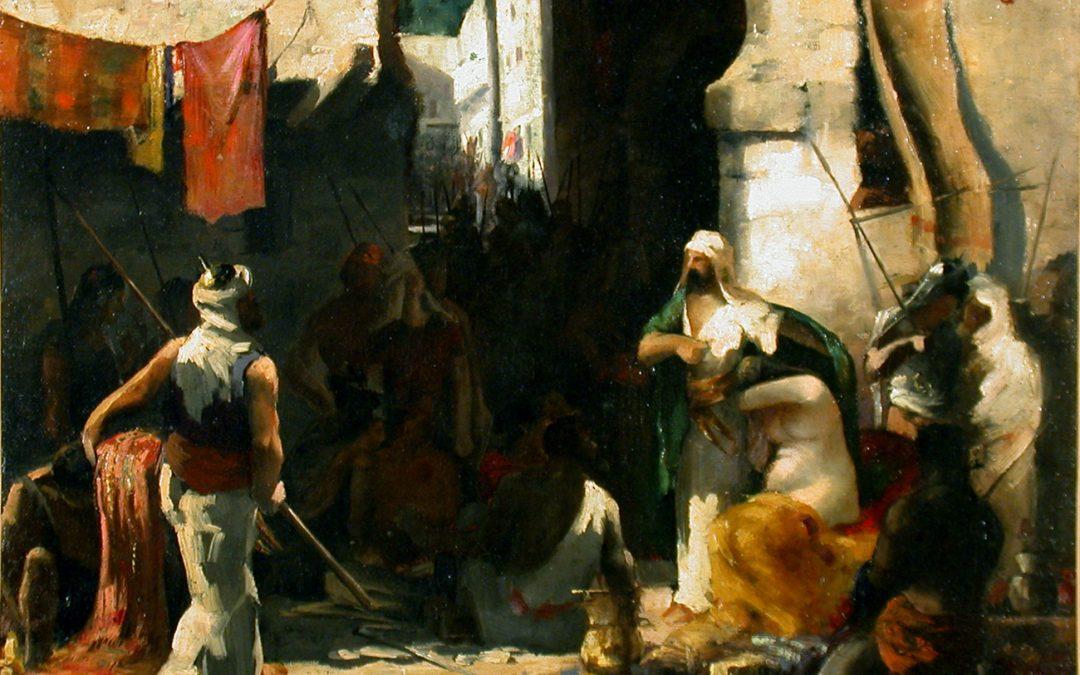 «Le marché aux esclaves», un thème récurrent des peintres orientalistes