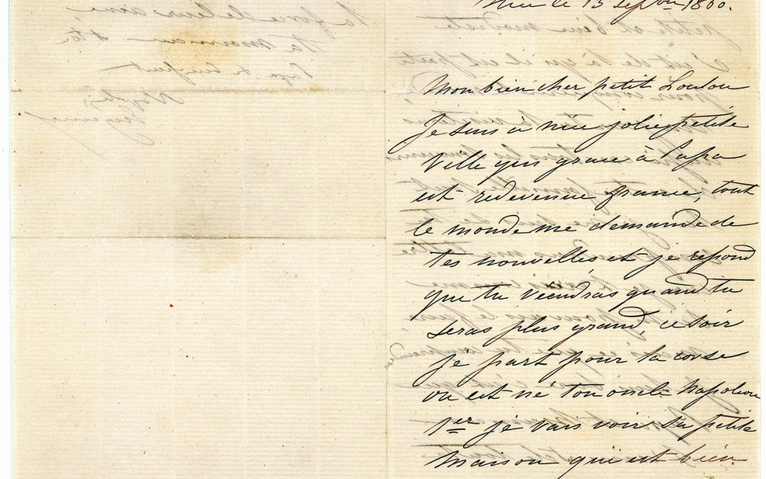 Correspondance d'Eugénie