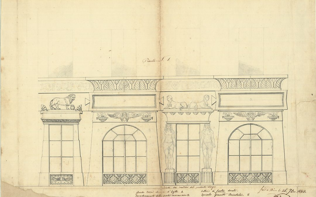 L'égyptomanie à Nice en 1843: où comment deux pharaons vendent de l'eau minérale rue Saint-François-de-Paule