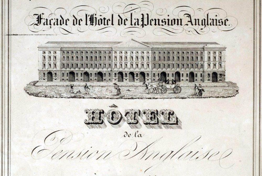 Conférence «Hôtels et Palaces. Nice, unehistoire de l'hôtellerie de 1780 à 1940»
