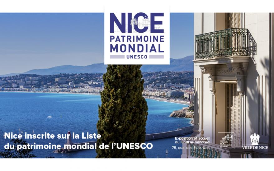 Nice, inscrite sur la liste du Patrimoine mondial de l'UNESCO