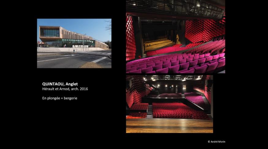 Architectures théâtrales, morphologies spatiales ?